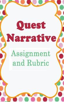 Quest Narrative- Writing Assignment