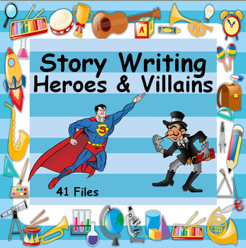 Quest - Writing a Story - Heroes & Villains - Massive 41 Files