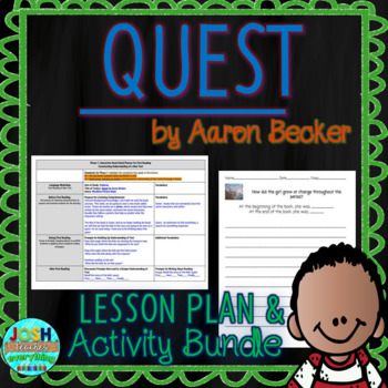 Quest by Aaron Becker 4-5 Day Lesson Planner