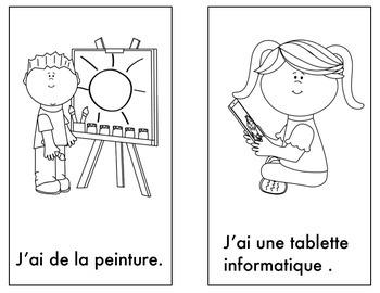 Qu'est-ce Que Vous Avez? Back to School Reader in French