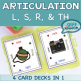 #warmupwithsped1 Articulation Game Vocalic R, L, S, and TH