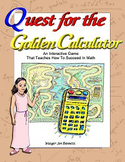 Quest for the Golden Calculator Math Adventure
