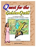 Quest for the Golden Quill - Interactive Adventure - The C