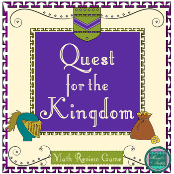 Quest for the Kingdom- End of the Year Math Review Project-Gamification Style
