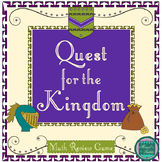 Quest for the Kingdom- End of the Year Math Review Project