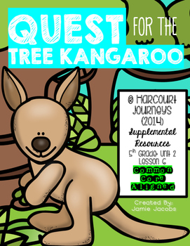 Quest for the Tree Kangaroo (Journeys 5th Gr. - Supplemental Materials)