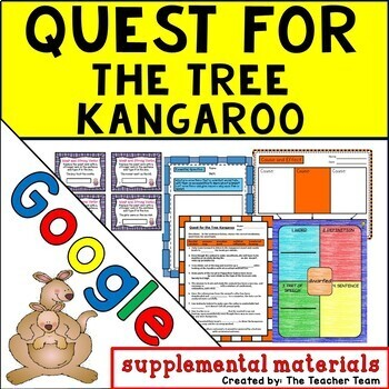 Quest for the Tree Kangaroo Journeys 5th Grade Lesson 6 Google Digital Resource