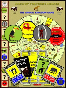Quest of the Honey Badger - The Animal Kingdom Game
