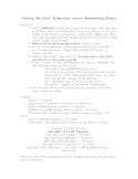 Question-Answer Relationship Nonfiction Project