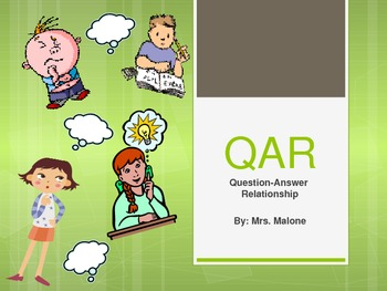 Question Answer Relationship Powerpoint