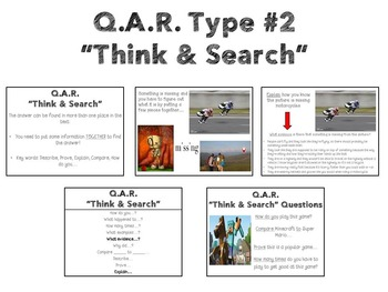 Question Answer Relationships (PowerPoint and Graphic Organizers)