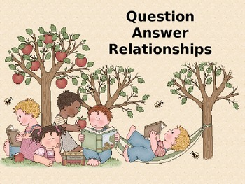 Question Answer Relationships PowerPoint