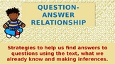 Question-Answer relationship powerpoint