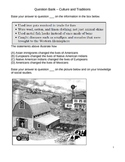 Middle School Social Studies Question Bank - Culture & Tradition