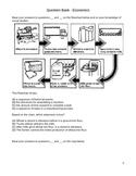 Question Bank - Economics - Intermediate Social Studies (4- 8)