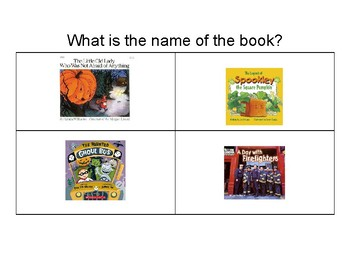Question Book and Activities for The Haunted Ghoul Bus