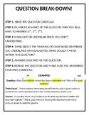 Question Break Down Poster