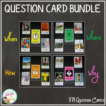 *Question Card Bundle 371 Cards