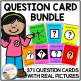Question Card Bundle Special Education Autism ABA