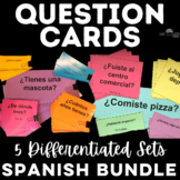 Question Cards BUNDLE for Spanish class