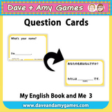 Question Cards: My English Book and Me 3