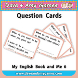 Question Cards: My English Book and Me 6