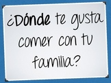 Question Cards - Familias (PDF/Keynote/PowerPoint)