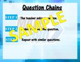 Question Chains - Math 180 Classroom Routine