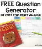 Question Creator Graphic Organizer: FREEBIE!!