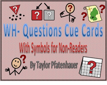 Question Cue Cards/Posters