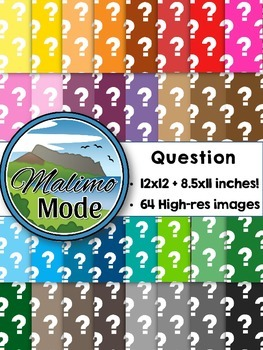 Question - Digital Papers Package (12x12 AND 8.5x11 inches)