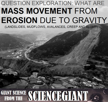 Question Exploration: How Does Gravity Cause Erosion?