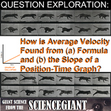 Question Exploration: Solve Average Velocity from a Position-Time Graph