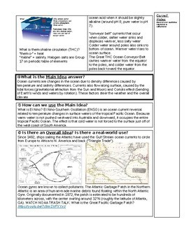 Question Exploration: What Are Ocean Currents?