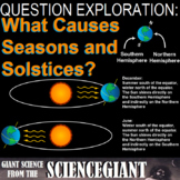Question Exploration: What Causes Seasons and the Solstices?