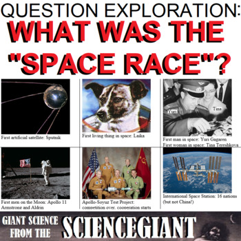 Question Exploration: What Was the Space Race? (Early Space Exploration History)