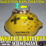 Question Exploration: What is a Battery? (Electrochemical Wet and Dry Cells)