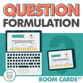 Question Formulation Boom Cards™️ for Speech Therapy and T