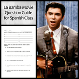 La Bamba Movie Question Guide for Spanish Class