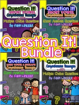 Question It! Comprehension Passages Bundle