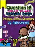 Question It! Short Vowel Comprehension Passages