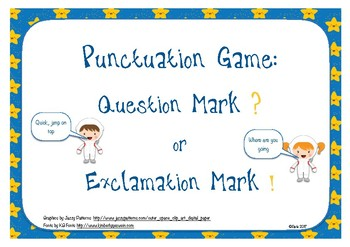 Question Mark or Full Stop?