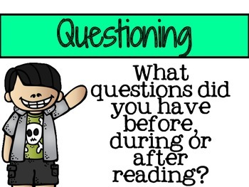 Question Me! Reading Posters
