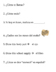 Question Museum- Spanish 1: Preliminary Chapter