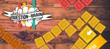 Question My Brain - communicative fun game to train questi