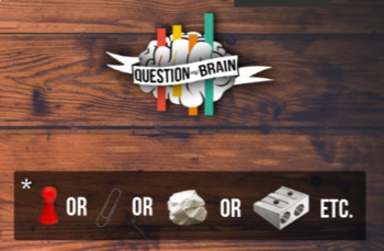 Question My Brain - communicative fun game to train question asking