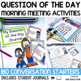Morning Meeting Activities Question Of The Day