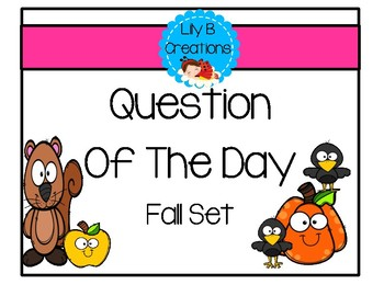 Question Of The Day~ Fall Set