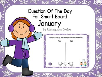 Question Of The Day For SMART Board January