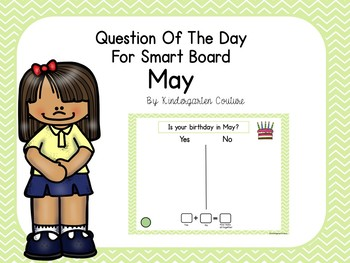 Question Of The Day For Smart Board -May
